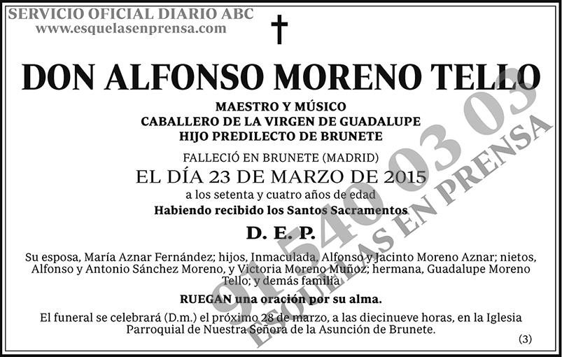 Alfonso Moreno Tello
